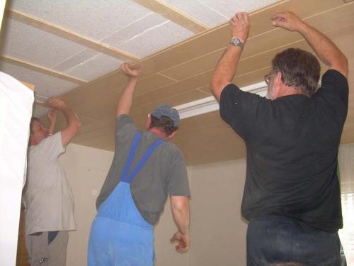 2009-05-26 Feuerwehrhaus Umbauarbeiten