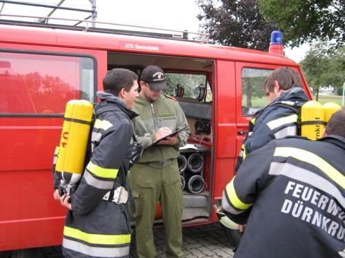 2009-10-10 UA Atemschutzübung in Sierndorf