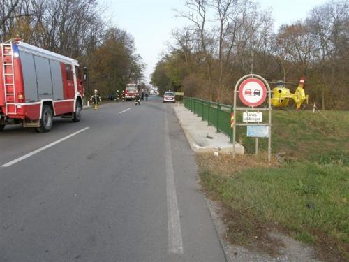 2011-11-10 PKW Unfall auf B49