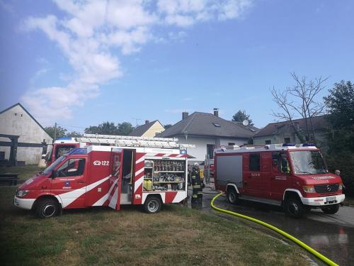 2018-08-28 Wohnhausbrand in Jedenspeigen